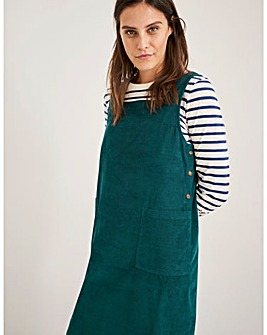 White Stuff Seedling Cord Pinafore Dress