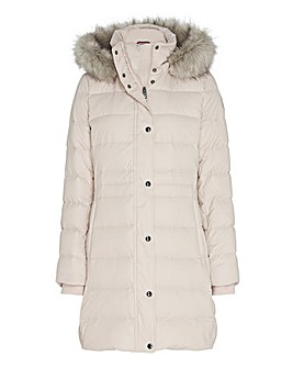 Tommy Hilfiger Tyra Down Fur Jacket