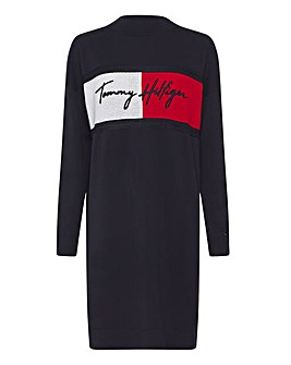 Tommy Hilfiger Relaxed Fit Jumper Dress