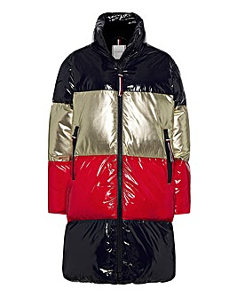 Tommy Hilfiger Colourblock Down Coat