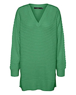 Vero Moda Long V Neck Jumper