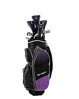 Ben Sayers M8 Package Set Purple (Cart Bag) LRH
