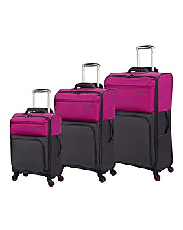 IT Luggage Duo-Tone 3pc Set