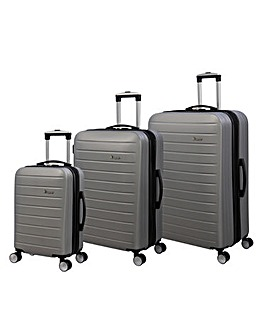 IT Luggage Legion 3pc Set Silver