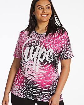 Hype Spray Leopard T-Shirt
