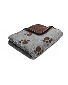 Sherpa Printed Fleece Pet Comforter