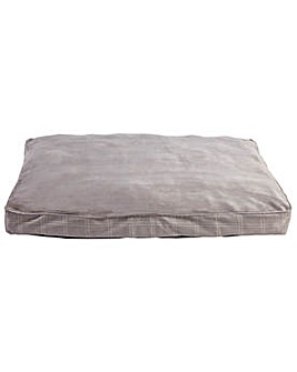 Country Check Large Pet Mattress