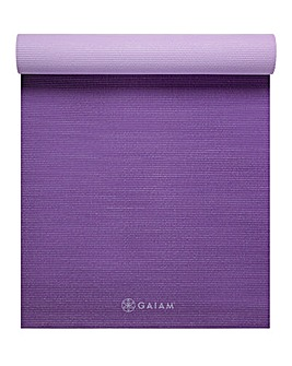 GAIAM 6mm Reversable Yoga Mat