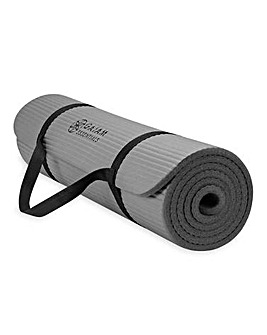 GAIAM 10mm Essential Fitness Mat with Carry-Strap
