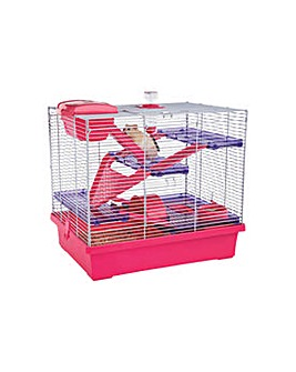 Rosewood Pink/Purple Pico Hamster Cage