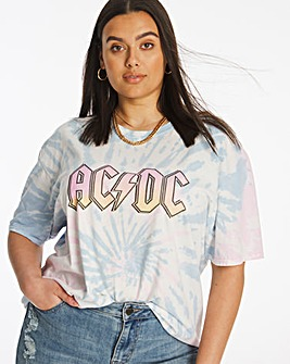 ACDC Tie Dye T-Shirt by Daisy Street