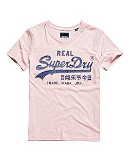Superdry Glitter Emboss T-Shirt