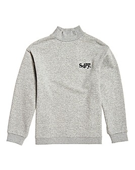 Superdry Ana High Neck Crew Sweat