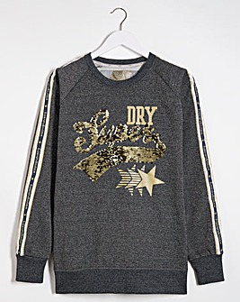 Superdry Boutique Star Crew Sweat