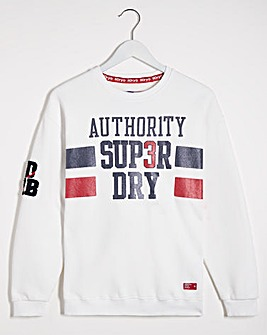 Superdry SDQB Authority Crew Sweat
