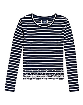 Superdry Summer Schiffli Long Sleeve Top