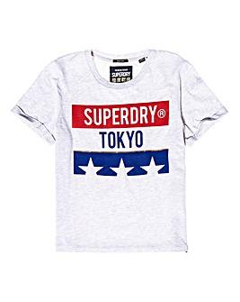 Superdry Tokyo Stars Boxy T-Shirt