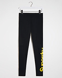 Superdry Core Logo Graphic Legging
