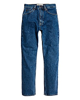 Superdry High Rise Straight Leg Jean
