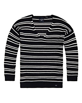 Superdry Amelia Stripe Knit