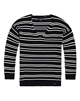 Superdry Amelia Stripe Knit