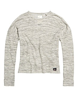 Superdry Nevada Springs Slub Knit