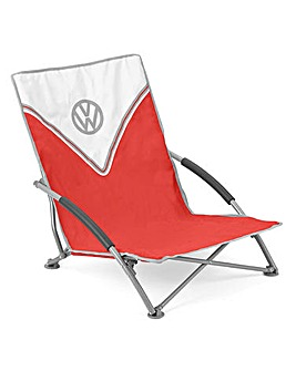 VW Low Folding Chair - Red