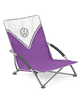VW Low Folding Chair - Purple