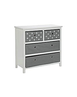 Oscar 2+2 Drawer Chest