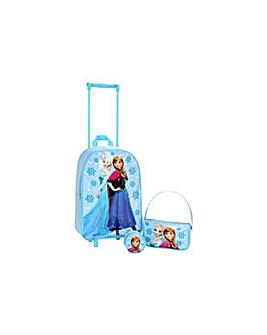Disney Frozen 3 Piece Luggage Set