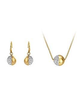 Buckley Greenwich Pendant & Earring Set