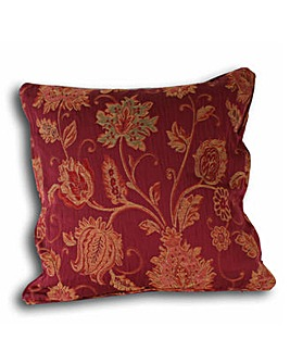 Zurich Jacquard Floral Poly Cushion