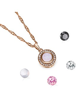 Buckley Rose Gold Interchangeable Pendant
