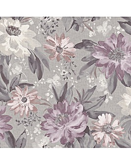Arthouse Painted Dahlia Wallpaper