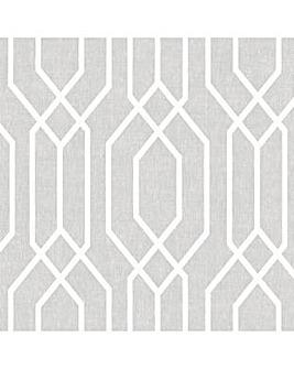 Arthouse NY Geo Grey Wallpaper