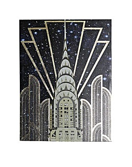 Arthouse Gold Chrysler Canvas