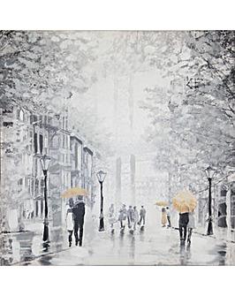 Arthouse Rainy Manhattan Printed Canvas