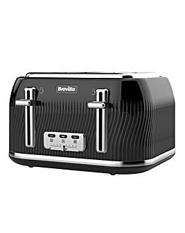 Breville VTT890 Flow 4 Slice Black Toaster