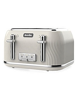 Breville VTT891 Flow 4 Slice Cream Toaster