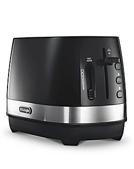 DeLonghi Active 2 Slice Black Toaster