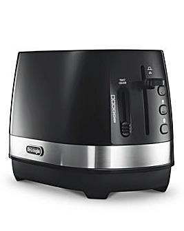 DeLonghi Active 2 Slice Black Toaster