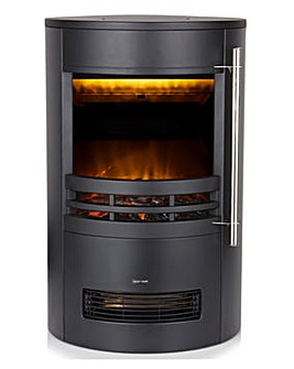 Warmlite Curved Contemporary Stove