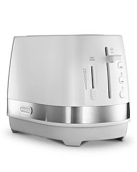 DeLonghi Active 2 Slice White Toaster