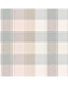 Arthouse Country Check Wallpaper