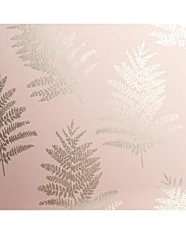 Arthouse Metallic Fern Wallpaper
