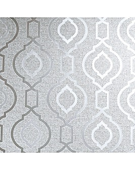 Arthouse Calico Trellis Wallpaper