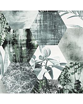 Arthouse Foliage Hex Wallpaper