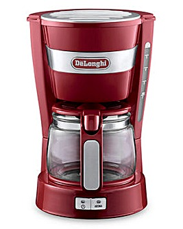 DeLonghi Red Filter Coffee Machine