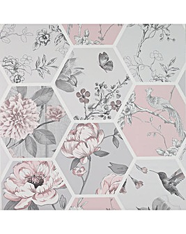 Arthouse Chinoise Decoupage Wallpaper