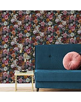 Multicolour Masterpiece Floral W/Paper